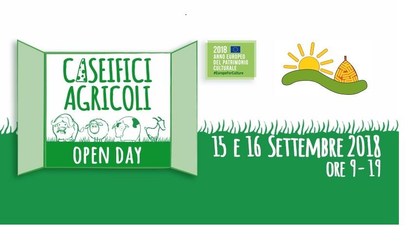 CASEIFICI AGRICOLI OPEN DAY